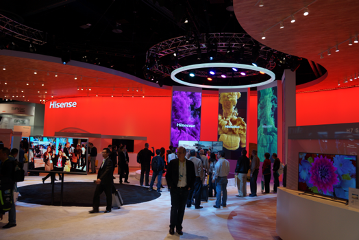 CES 2015: Hisense stellt UHD TVs ULED 2.0 mit flexibler Hardware vor