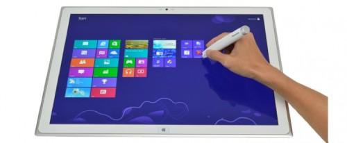 Panasonic zeigt ersten Werbefilm für das 20 Zoll 4K-Tablet