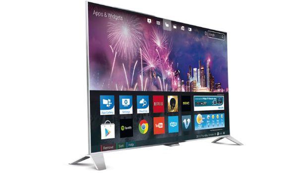 Philips 8800 Smart TV setzt auf UHD, Ambilight und Android
