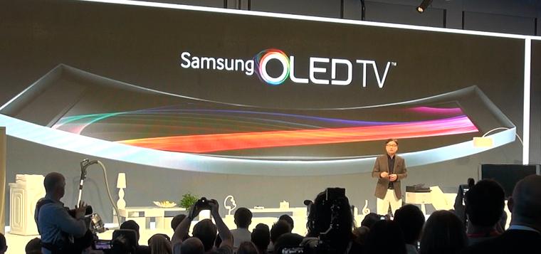 Samsung zeigt S9C Curved OLED TV auf der IFA 2013