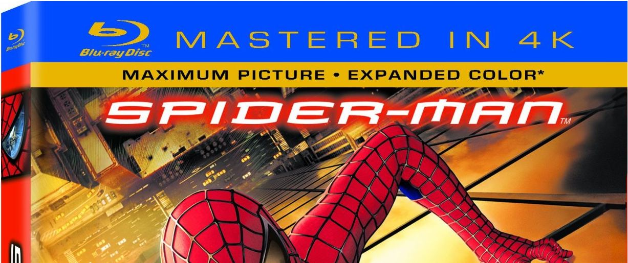 "Spider-Man – ""Mastered in 4K"" Blu-Ray"