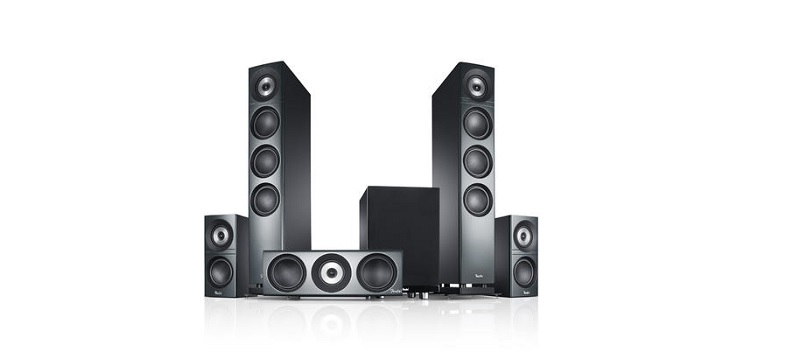 "Des Teufel(s) Soundsystem: Definion 3 Surround ""5.1-Set"""